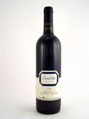 2000 EVANS & TATE Barrique 61 Cabernet Merlot Isle of Wine