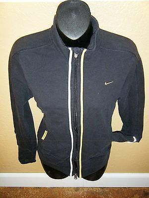 Women's Nike Live Strong Fit Dry Long Sleeve Athletic Zip Up Jacket Size Small