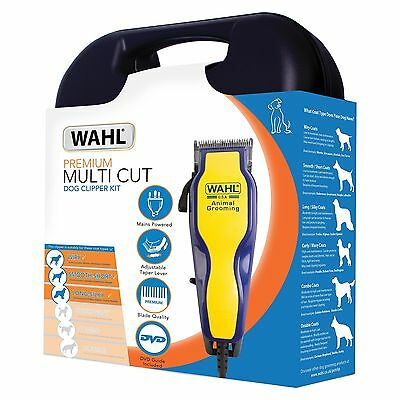 Wahl Dog Clippers Pet Grooming Trimmer Professional Electric Animal Shaver Kit