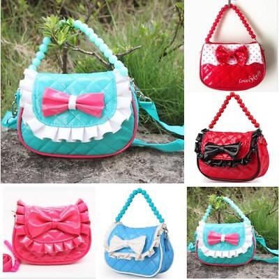 Baby Kids Toddler Girls Handbag Tote Shoulder Messenger Sling Bag Satchel Purse