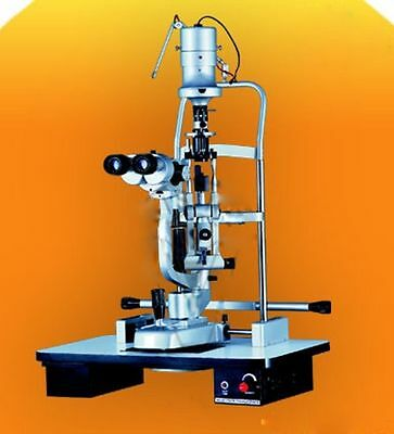 Slit Lamp Haag Streit Type 5 Step With Wooden Base A+++++ Quality