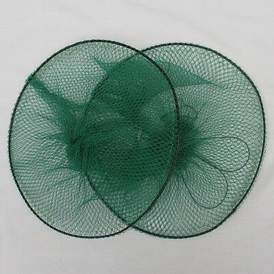 Portable Crab Trap Net For Prawn Shrimp Crayfish Lobster Bait Fishing Pots NEW
