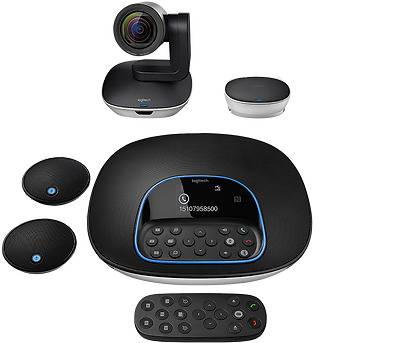 Logitech GROUP+Expansion MICS for VIDEO CONFERENCING FOR MEDIUM TO LARGE GROUPS