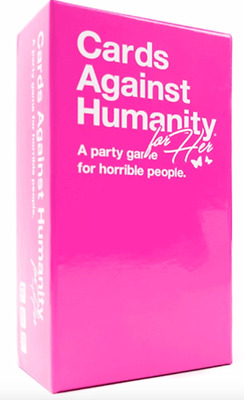 Cards Against Humanity for Her Pink Game & Period Pack Limited Edition Weed Set