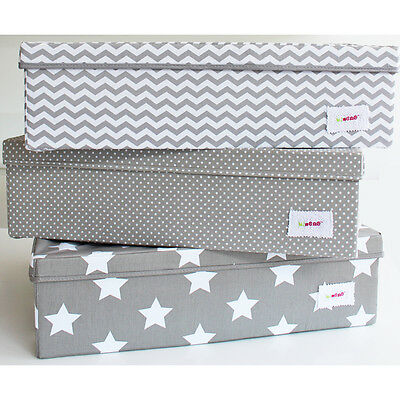 Minene New Underbed Storage Boxes - Fits perfectly under cots & beds! 60*49*17cm