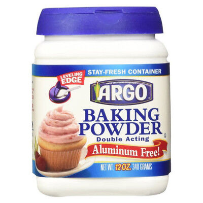 Argo Double Acting Baking Powder 12 oz Containers - Pack of 1