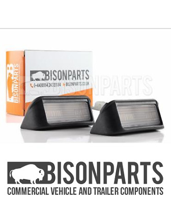 *Citroen Berlingo (2015 Onwards) Rear Number Plate Lamps 6340G7 - Cit058 X 2