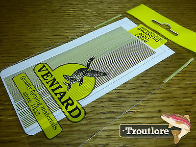 Veniard Cream Synthetic Quills - New Fly Tying Quill Body Material