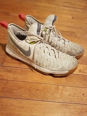 Nike KD9 Men's Basketball Shoe Size 10.5 (Great Condition) Summer Colorway