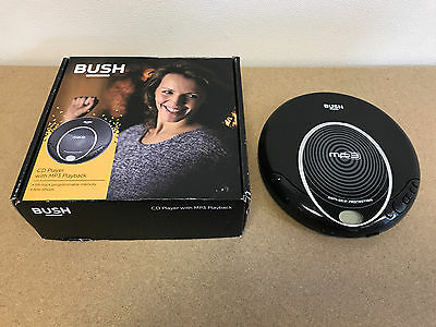 S14 Boxed Bush Mp3 Jog Proof Personal Cd Player Anti Shock Vibration Mpcd-126