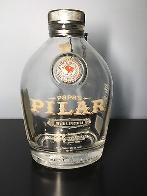 Papa's Pilar 24 Rum Bottle - Empty