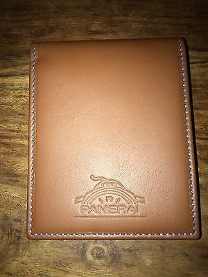 Panerai Limited Edition Leather Double Fold Wallet Bnib
