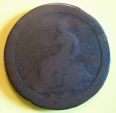 Great Britain 1797 Large Cartwheel Penny Mad King George III