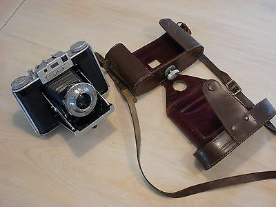 "Vintage ""Agifold"" Folding Camera with Anastigmat 75mm Agilux f/4.5 Lens"