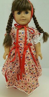 "18"" Dll Clothes - Handmade Fancy Dress, with Shoes - Fits American Girl Dolls"