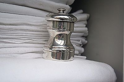 Pepper Mill   Silver Sterling