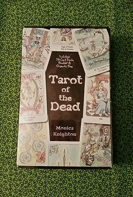 NEW Tarot Of The Dead Cards Deck & Book Set Sealed Divination Pagan