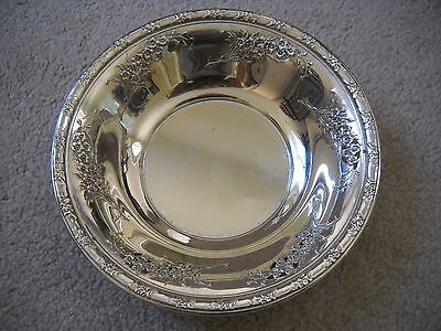 Sterling Silver Bowl - Wallace - Larkspur - #4099