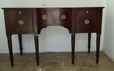Early IRISH mahogany sideboard