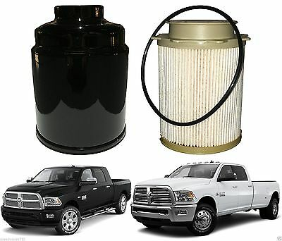 fuel filter & water separator for 2013-2017 ram 6 7 cummins new free  shipping