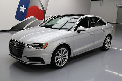 2015 Audi A3 Premium Sedan 4-Door 2015 AUDI A3 2.0T QUATTRO PREMIUM AWD SUNROOF NAV 46K #002094 Texas Direct Auto