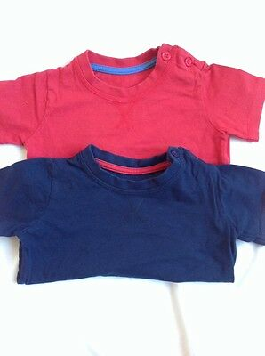 Baby Boys T-Shirts 6-9 months set of 2 tshirt tops clothes