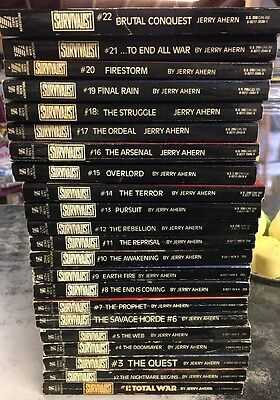 The Survivalist Books 1-22 By Jerry Ahern