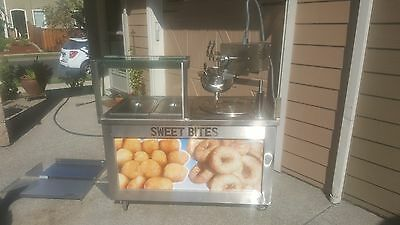 Greek dounghnut machine/cart  (lououmades / mini donut /churro business)