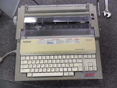 Brother WP-3550 Word Processor Typewriter - Brother CT-1050 Monitor - EXTRAS!!!