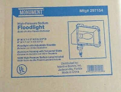 High pressure sodium. Flood Light. Bulb included cheapest price on eBay