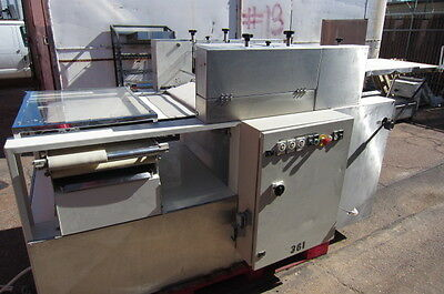 Dough Former Sheeter Criossant Molder 3 Sets Rotary Dies Knives  Sizes Roller