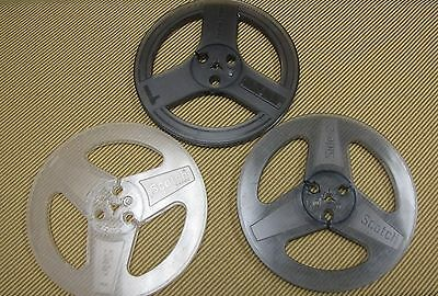 Reel To Reel Take Up Reels, 3 Plastic