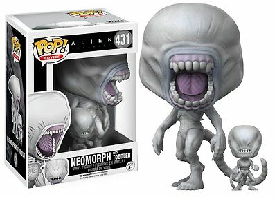 Funko POP ! 431 Movie Neomorph with Toddler - Alien Covenant NEW!!!