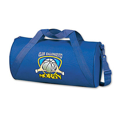 ROUND DUFFLE BAGS - 50 quantity - Custom Printed with Your Logo