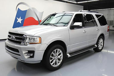 """2017 Ford Expedition EL Limited Sport Utility 4-Door 2017 FORD EXPEDITION LTD ECOBOOST NAV 20"""" WHEELS 13K MI #A19677 Texas Direct"""