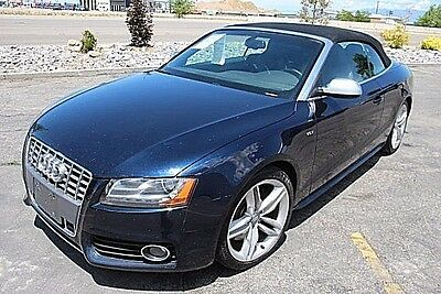 2010 Audi S5 Cabriolet Prestige 2010 Audi S5 Cabriolet Prestige Damaged Repairable Loaded w Options PerfectFixer