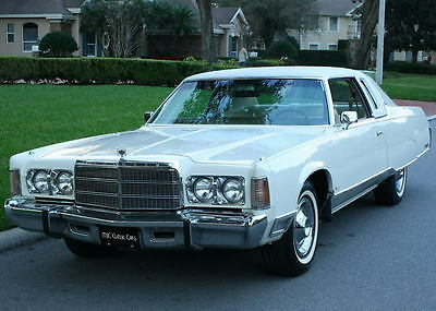 1975 Chrysler New Yorker  IMMACULATE TWO OWNER SURVIVOR  1975 Chrysler New Yorker Coupe - 46K ORIG MI
