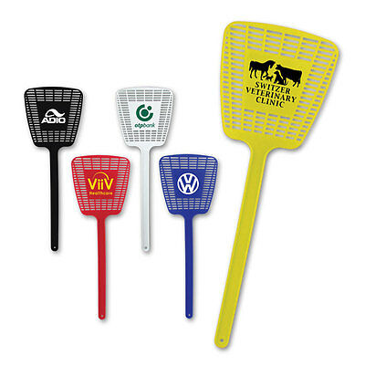FLY SWATTERS - 300 quantity - Custom Printed with Your Logo