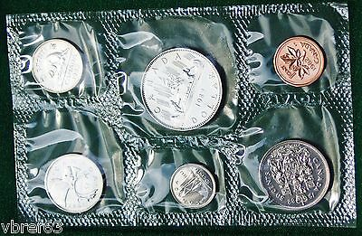 1982 Canada Prooflike PL set - 6 perfect coins in org packaging and certificate