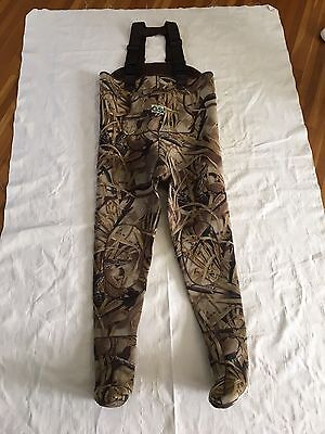 Gander Mountain Guide Series Large L CHEST Wader Hunting Fishing MENS CAMO