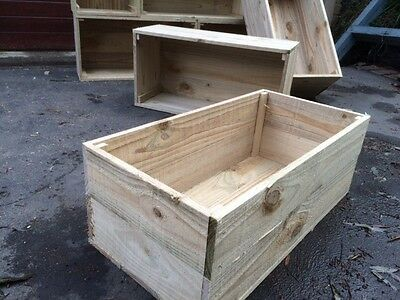 1 x budget box Rustic wooden crate old vintage industrial fruit timber cheap $15