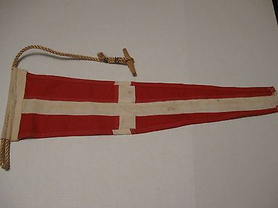 Naval Signal Pennants COTTON  BOTH SIDED -NAUTICAL FLAG  FREE SHIPPING #22