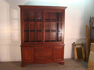 45783:Kincaid Solid Cherry China Cabinet