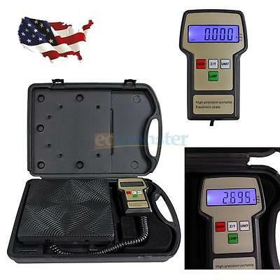 High precision 220lbs Refrigerant Electronic Charging Weight Scale for HVAC New