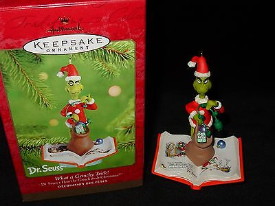 Dr. Seuss What A Grinchy Trick! How The Grinch Stole Christmas Ornament
