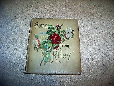 1904 Gems From Riley The Coronal Series Hardcover Illustrated Complete Book