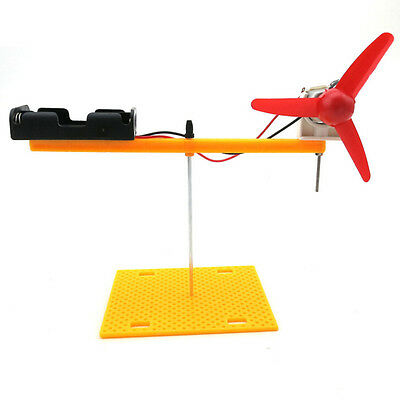 Rotary Wing Experiment Science Toys DIY Manual Atmospheric Mechanics Demo Model