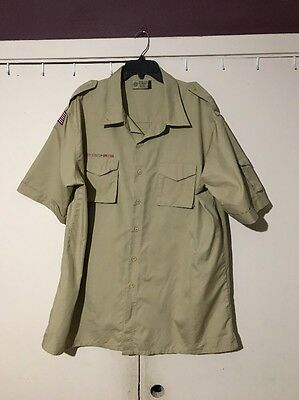 Boy Scouts Of America Shirt Size Adult 2X Large.           S