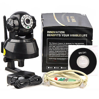 New Network Wi-Fi Video Baby Monitor | Wireless IP Surveillance Security System