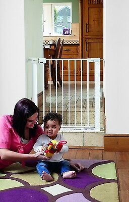 Safety 1st first 14 cm Extensions Pressure Fit Gate (White) Stair Gate Brand New